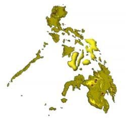 Imagemap of the Philippines
